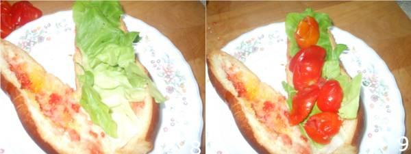panino con pomodoro