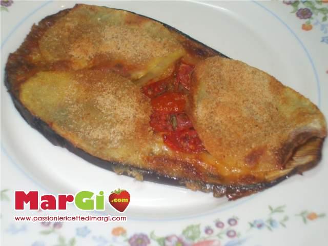 parmigiana di melanzane grigliate e patate
