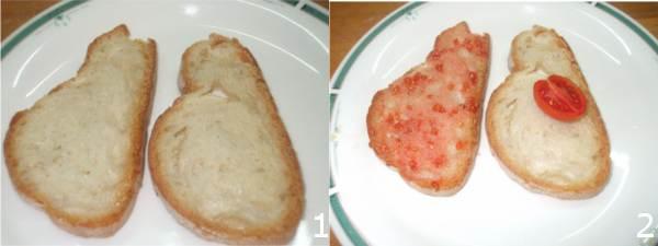 ricetta pane e pomodoro