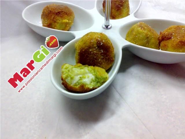 crocchette al forno con broccoli e patate
