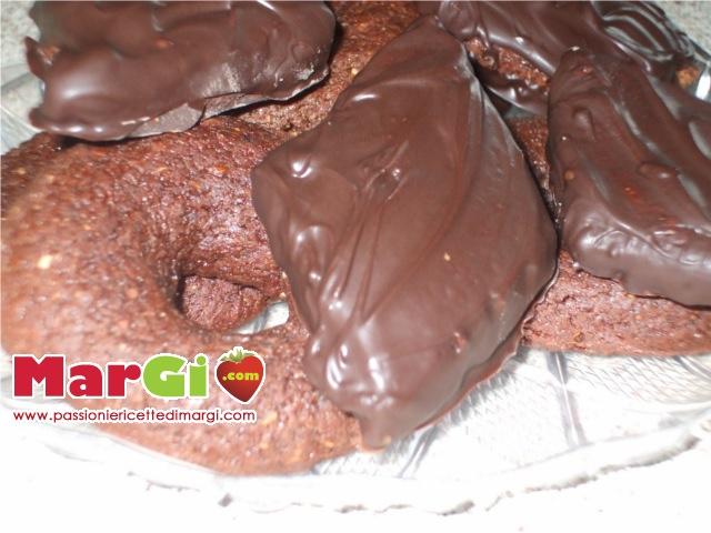 mostaccioli con cioccolato