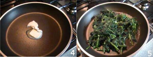 ricetta con spinaci