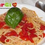 spaghetti al pomodoro datterino