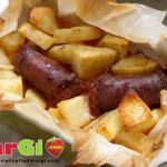 Salsiccia di cotechino con patate