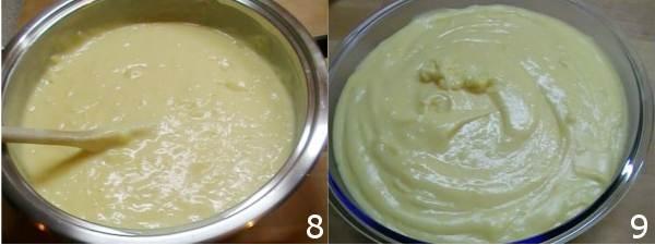 crema per farcire torte