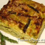 Lasagne con crema di asparagi