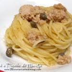 spaghetti tonno e zenzero