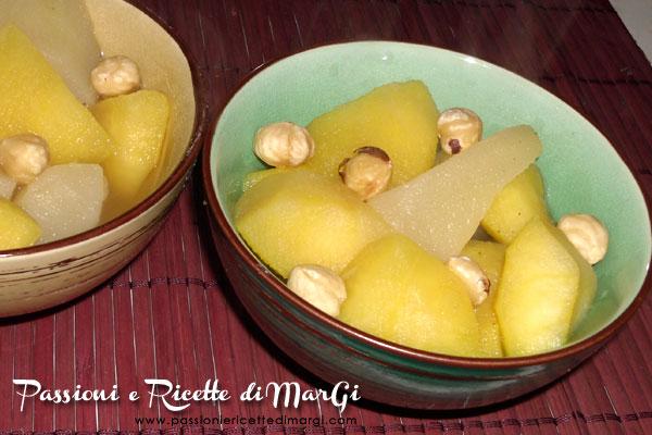 Frutta cotta alla cannella