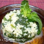 Risotto con spinaci light