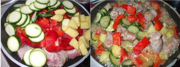 secondi piatti con verdure