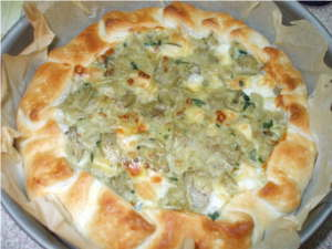 pizza rustica con patate