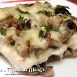 Filetti di merluzzo con funghi al forno