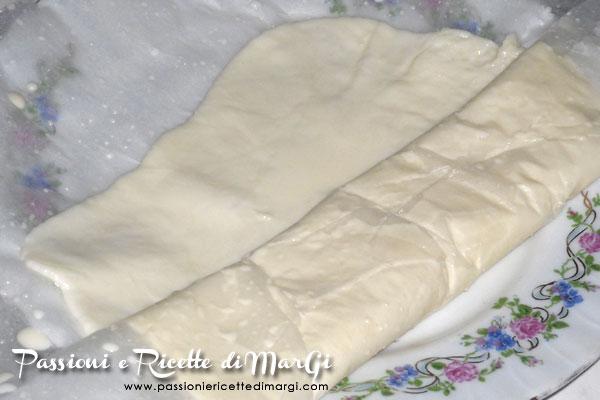 Sfoglia di mozzarella fatta in casa