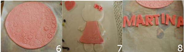 torta per bambina