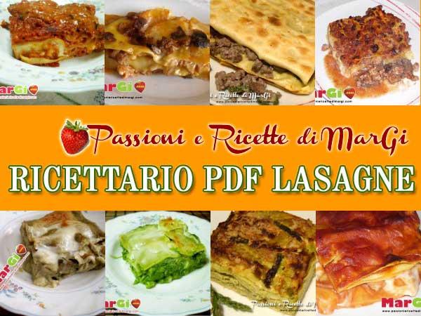 Ricettario lasagne