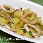 anelli di totano surgelati al forno con patate