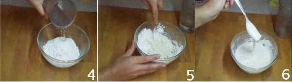 pastella per fiori di zucca