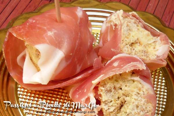 bocconcini prosciutto e formaggio