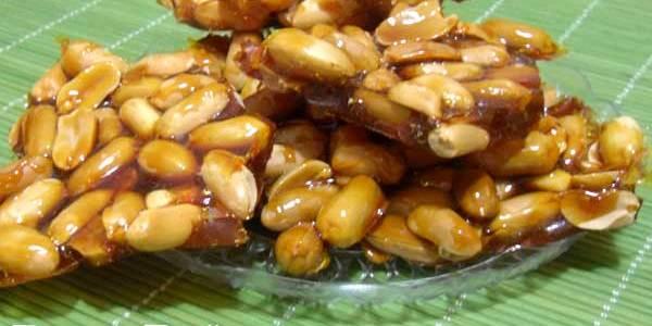 croccante con arachidi