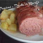 Polpettone al forno morbido con patate