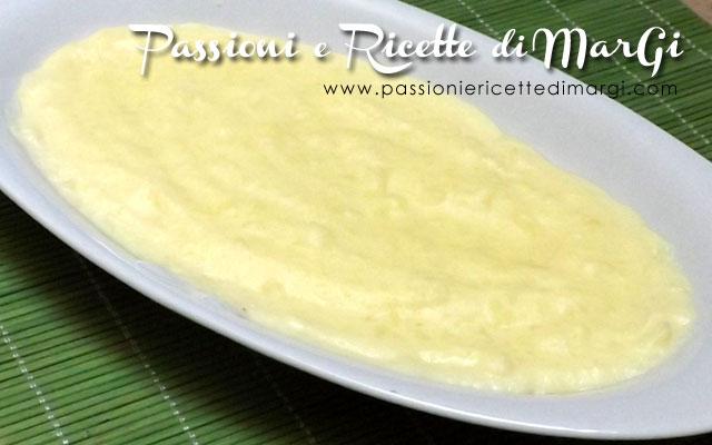Crema pasticcera con uova intere densa