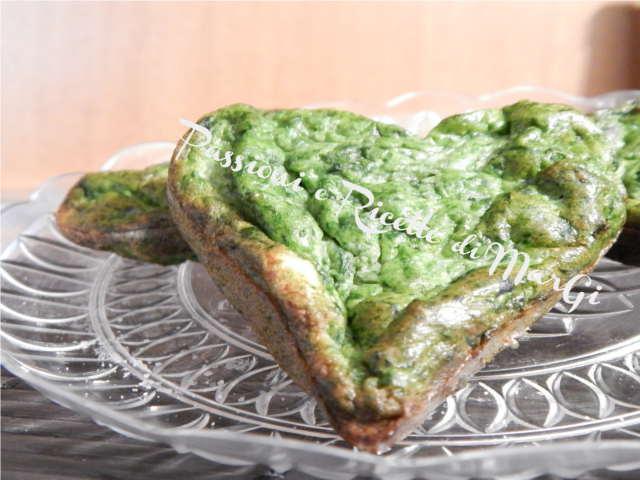 frittata di ricotta e spinaci