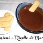 Cioccolata per profiteroles e zuccotti