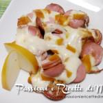 Wurstel e mozzarella affumicata