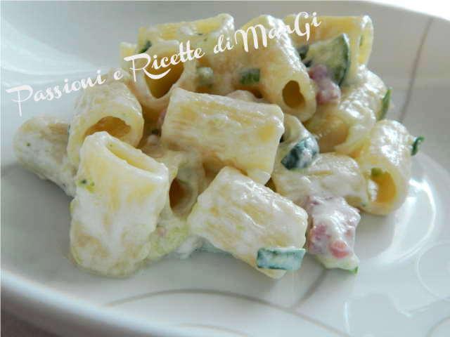 pasta allo yogurt greco