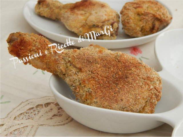 cosce di pollo al forno con erbe