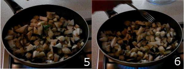 pasta con funghi