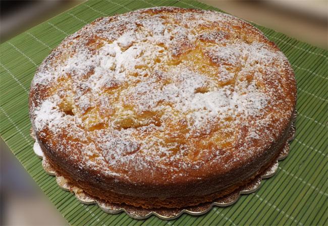 torta alla ricotta soffice