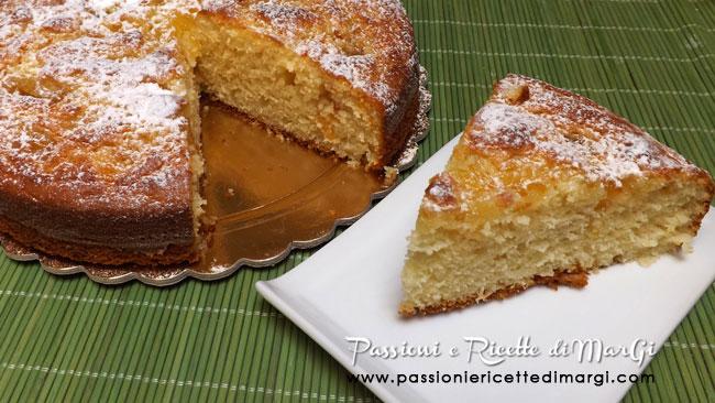 Torta ricotta e marmellata