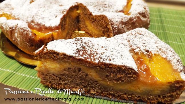 Torta crema di zucca e cacao