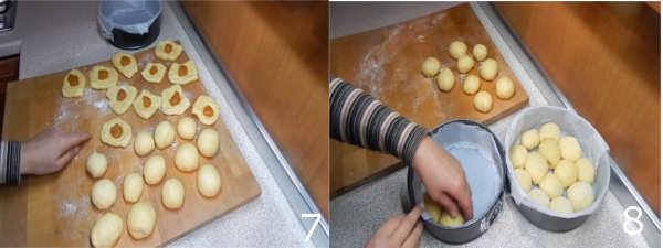 ricetta danubio con nutella 7 8