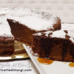 torta al latte caldo e cacao
