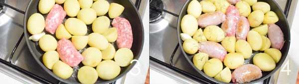 patate-e-salsiccia-in-padella