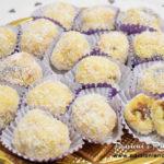 Tartufi di Pandoro cocco e Nutella