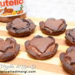 Crostatine alla crema di cioccolato