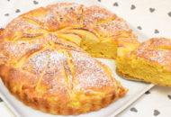 torta di mele e zucca cruda