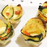 rose di patate e zucchine